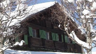 Photo for 125m² 4*. At the foot of the slopes. Wonderful Mont Blanc view access to the ski