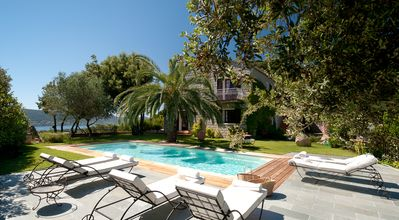Photo for Luxury Villa - Private Pool - Amazing Sea View - Cala Rossa Bay
