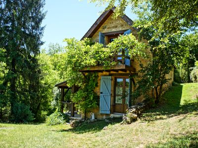 Photo for Stylish country cottage in one of the prettiest secret villages of the Dordogne