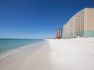 Photo for Spacious Gulf Front Condo with Amazing Views and Steps from the Sugar Sand Beach