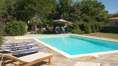 Photo for Holiday Home With Private Salt Water Pool In Anduze, Languedoc Roussillon, Franc