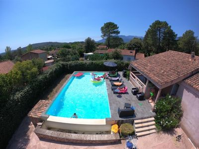 Photo for Charming House With Large Pool Near Porto Vecchio Center