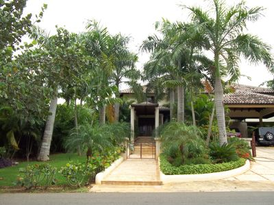 Photo for Luxurious Colonial Villa in Casa de Campo area of ​​Cajuiles