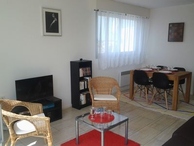 Photo for Appart sea view 3 rooms close beach trade and central market ALL ON FOOT calm
