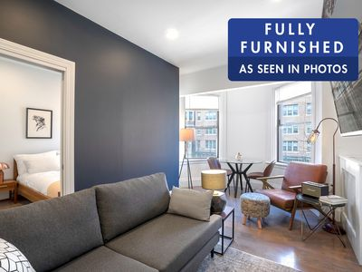 Photo for Sharp Back Bay 1BR near Newbury St, Boston Common & Fenway by Blueground