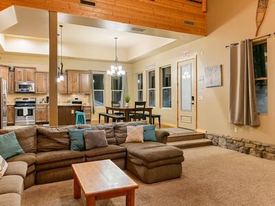 Photo for Hot Tub, Luxury Lodge w/ 2 Master Suites, best location
