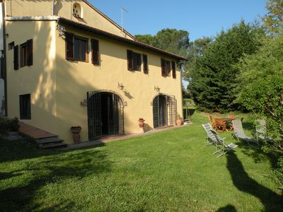 Photo for Typical country house with garden - Florence  Siena Pisa San Gimignano Chianti