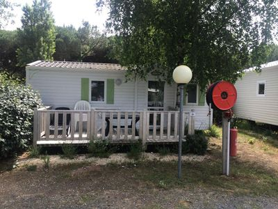 Photo for Camping les Calquieres **** - Mobil Home Funny Eco 3 Rooms 4 People