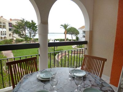 Photo for 1BR Apartment Vacation Rental in Le Barcar��s, Languedoc-roussillon