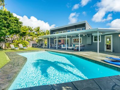 Hale Niuiki - 4br, 4ba w/ private pool, across the street from ocean access