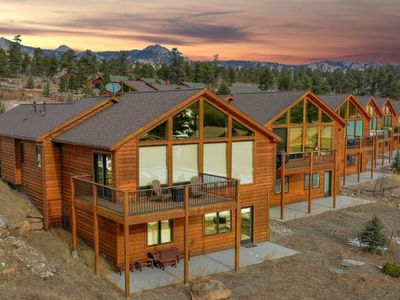 Photo for NEW LISTING with incredible views, close to town & RMNP; new hot tub, AC, & more
