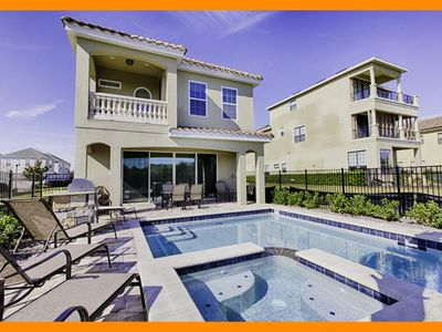 Photo for Reunion Resort 714 - Luxury villa with private pool & game room near Disney