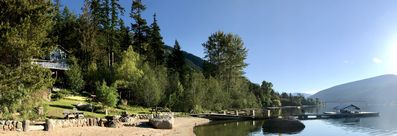 Hideaway Lakefront Forest Guesthouse on Kootenay Lake