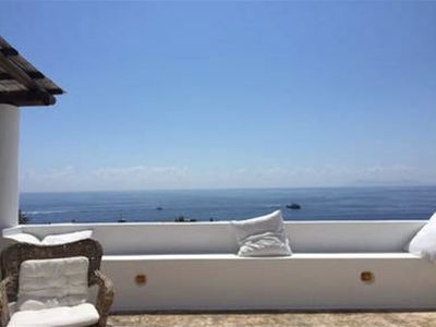 Photo for TYPICAL Aeolian VILLA WITH GARDEN TERRACES AND AMAZING SEA VIEW
