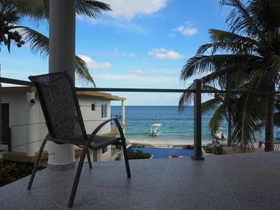 Photo for Casa Toucan 2 - Beautiful Beachfront near the Town Square of Puerto Morelos