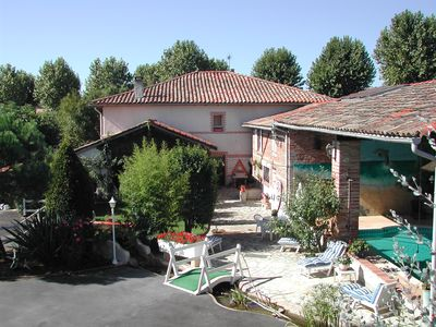 Photo for Studio 3 p in guest house 10 minutes from TOULOUSE, next to the Canal du Midi
