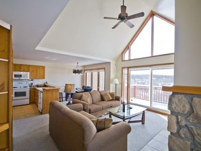 Photo for Luxury 3 Bedroom 2-level ski-in/ski-out condo, Sleeps up to 8