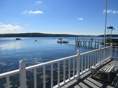 Photo for Located on the waters edge with views of lobster boats and harbor seals