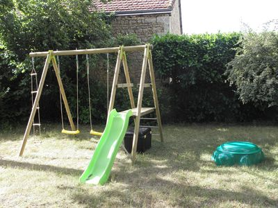 The play ground for children