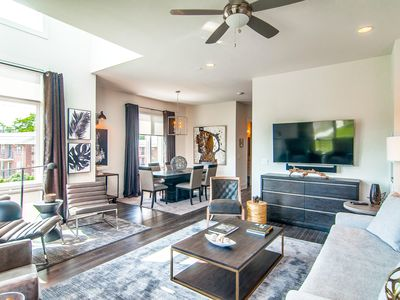 Photo for Hip 3BR, 3.5BA w/ Rooftop Patio - Short Uber/Lyft to Downtown, 12S, the Gulch