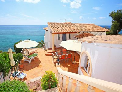 Photo for Wonderful private villa for 4 people with WIFI, TV, balcony and parking