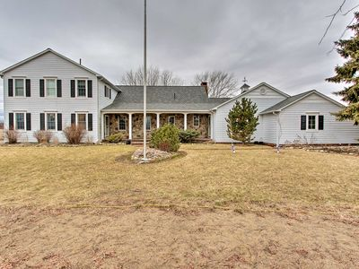 Photo for 20-Acre Lake Huron Home w/Pvt Pond, Hot Tub + More