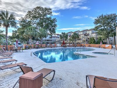 Photo for Oceanfront Cabana for parking,grilling,pools,hot tubs,tennis!