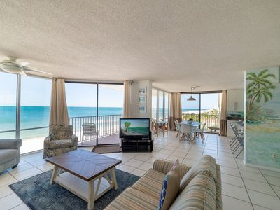 Photo for Panoramic Views of The Coast~3 Bdrm End Unit w/ Wrap Balcony~New Listing!