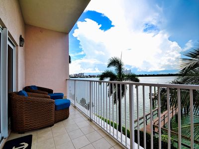 Photo for Brightwater Point Condo 106 Amazing Water View Condo