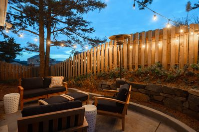 Stargaze and listen to the waves roll in from your own private backyard