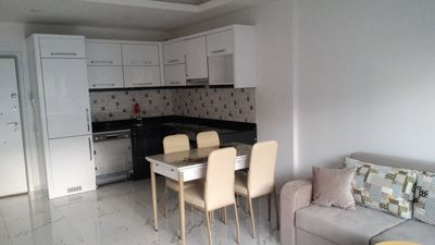 Photo for 1+1 premium apartment near the sea (sw. pools, SPA, BBQ zone)