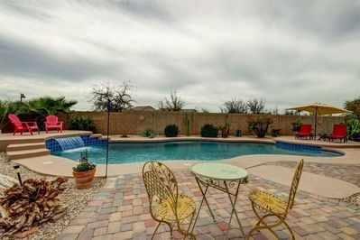 Super Big Backyard Pool And Bbq 5 Bedroom 3 Bathrooms 3735 Sqft Maricopa Beutiful Home Inspiration Cosmmahrainfo