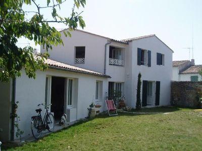 Photo for Ile de ré - loix - large house recently renovated with private backyard,