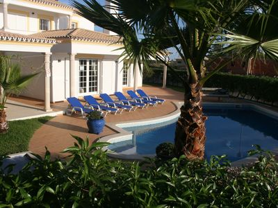 Photo for Splendid 4-bedroom villa with sea view-pool-air-conditioning-WiFi