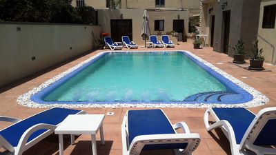Photo for Mellieha - 5 Bedroom Villa - Large Outdoor Pool - Jacuzzi and Views Sleep 8/10