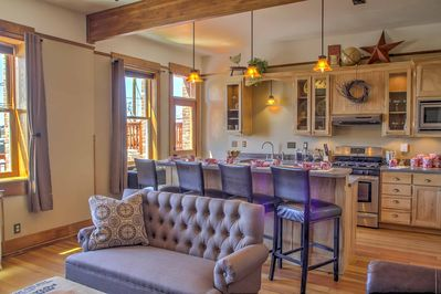 An unforgettable retreat awaits you at this historic 3-bedroom, 1.5-bathroom vacation rental apartment which comfortably sleeps 8 in Laramie!