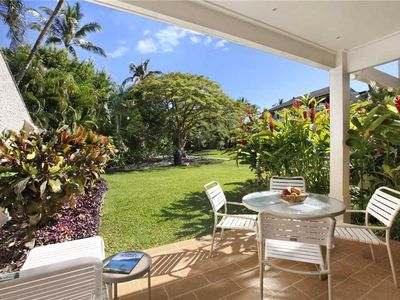 "Photo for Poipu Vacation Rental Peaceful Garden Retreat ""A/C Bedroom"" Pool & Jacuzzi *Kahala 913*"