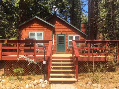 """Photo for Updated """"Old Tahoe"""" Cabin - Kings Beach near beach"""