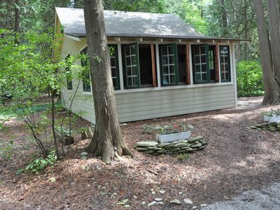 Photo for Two Person Efficiency Cottage on Green Bay