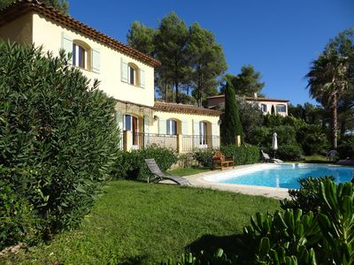 Photo for Gorgeous Villa in Stunning Gated Domaine Near Cannes