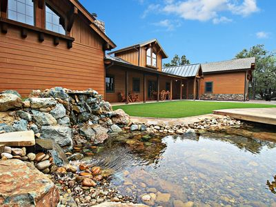 Photo for Dog-Friendly Guest House on 60 Acres – Views, Pond, Trails, Hot Tub & More!