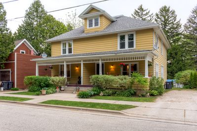 Choose this delightful Elkhart Lake vacation rental townhome for your next Wisconsin getaway!
