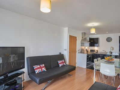 Photo for Luxury Riverside apartments, Two bedroom apartment Greenwich, O2, Excel