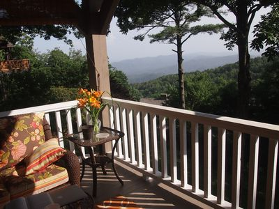 Photo for Blowing Rock Mountain House with Long Range Views!