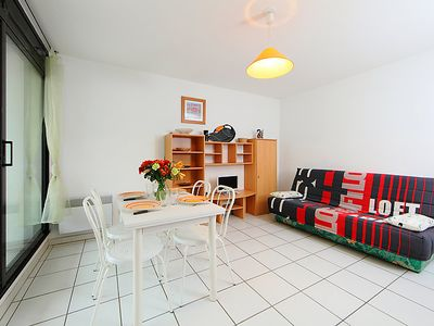 Photo for Apartment Les Roches Marines in Cap d'Agde - 4 persons, 1 bedrooms