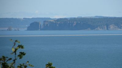 View from home of Cape Split on Bay of Fundy