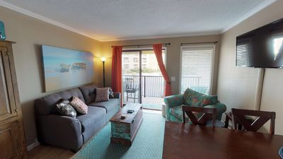 Photo for Completely Renovated Oceanfront 1 Bedroom, 1 Bath Hilton Head Beach and Tennis