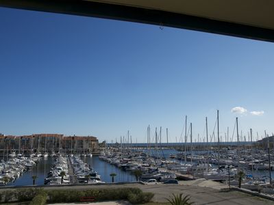 Photo for Superb T2 (sleeps 4-6) sea and Port Argeles in residence with pool