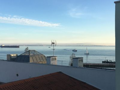 Photo for Alfama apartment with amazing river view