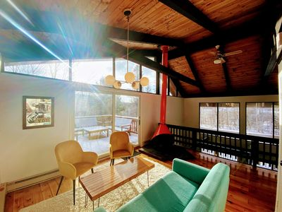 Photo for Explore the Catskills from a Modern Mountain House